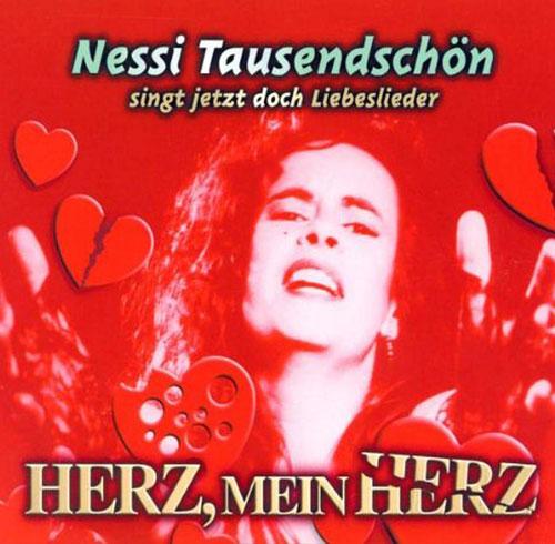 """CD-Cover vom Album """"Herz, mein Herz"""""""